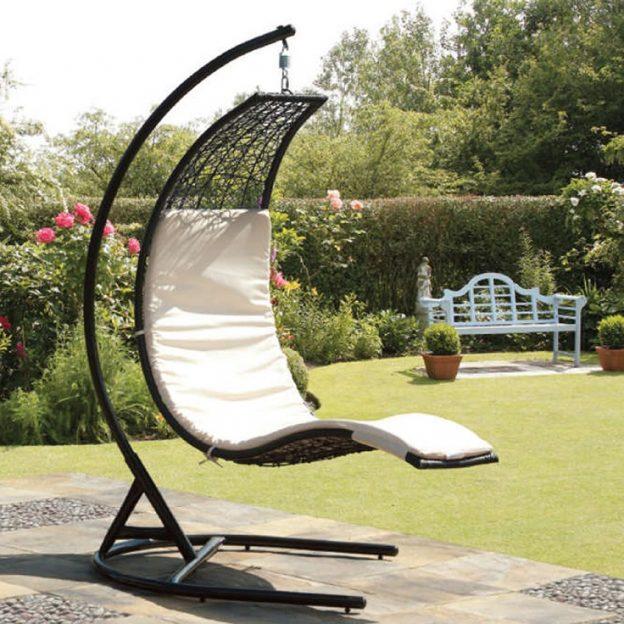 camas de jardn balancines hamacas y tumbonas para el descanso al aire libre - Hamacas Jardin