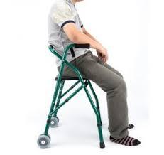 andador con asiento para descansar